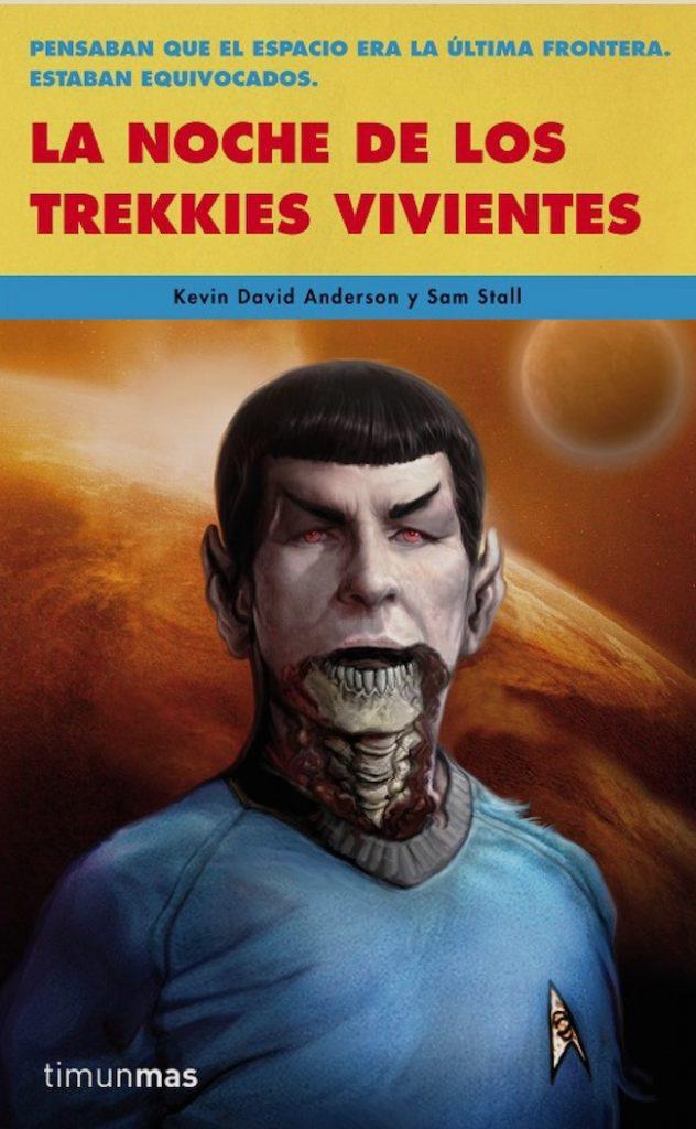 Carátula del libro La noche de los Trekkies vivientes