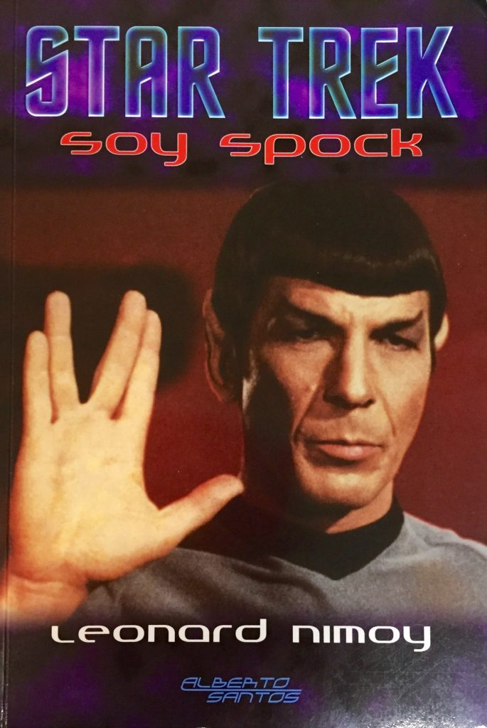 Carátula del libro Soy Spock
